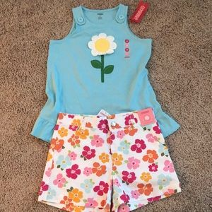 Girls Gymboree Floral Outfit
